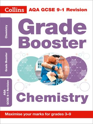 cover image of AQA GCSE 9-1 Chemistry Grade Booster for grades 3-9