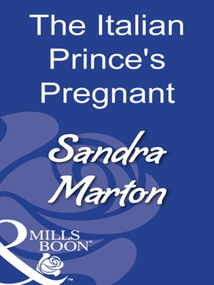 cover image of The Italian Prince's Pregnant Bride