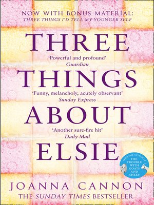 cover image of Three Things About Elsie