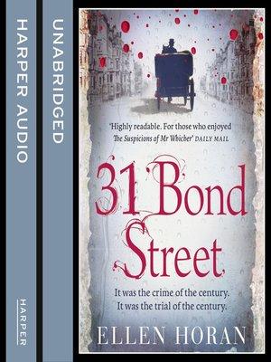 cover image of 31 Bond Street
