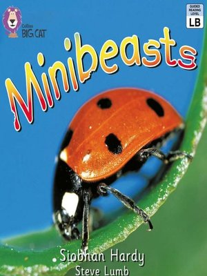 cover image of Collins Big Cat – Minibeasts
