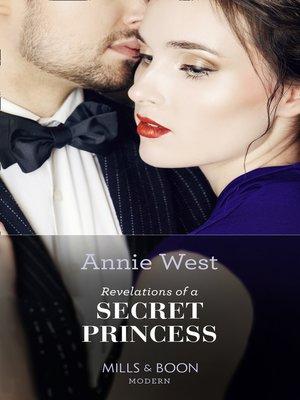 cover image of Revelations of a Secret Princess