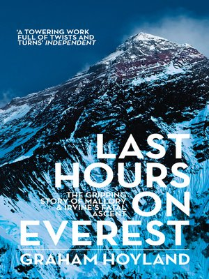 cover image of Last Hours on Everest