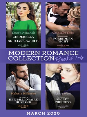 cover image of Modern Romance March 2020 Books 1-4