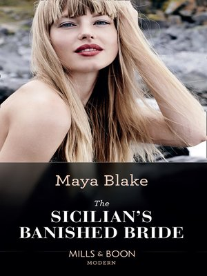 cover image of The Sicilian's Banished Bride