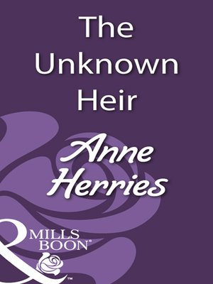 cover image of The Unknown Heir