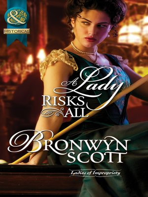 cover image of A Lady Risks All
