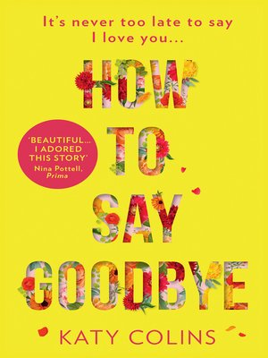 cover image of How to Say Goodbye