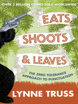 cover image of Eats, Shoots and Leaves