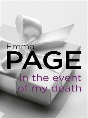 cover image of In the Event of My Death