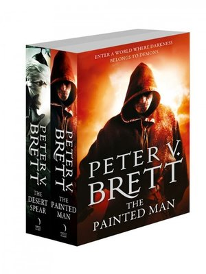 cover image of The Painted Man and The Desert Spear