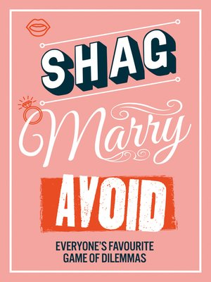 cover image of Shag, Marry, Avoid