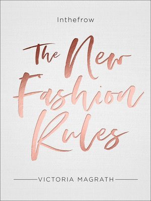 cover image of The New Fashion Rules