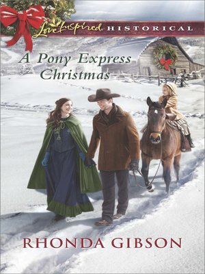 cover image of A Pony Express Christmas