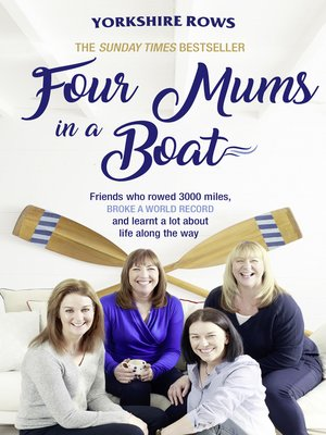 cover image of Four Mums in a Boat