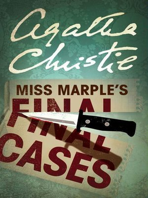 cover image of Miss Marple's Final Cases