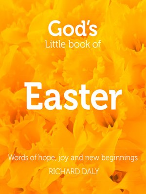 cover image of God's Little Book of Easter