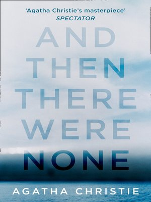 cover image of And Then There Were None
