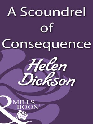 cover image of A Scoundrel of Consequence