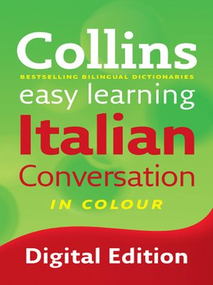 cover image of Collins Easy Learning Italian Conversation