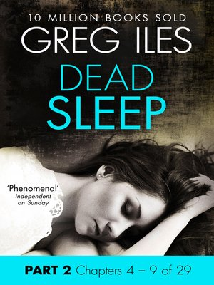 cover image of Dead Sleep, Part 2, Chapters 4 - 9