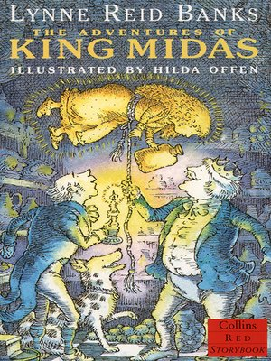 cover image of The Adventures of King Midas (Red Storybook)