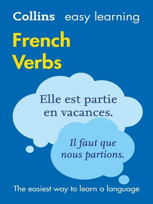 cover image of Easy Learning French Verbs