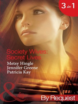 cover image of Society Wives: Secret Lives