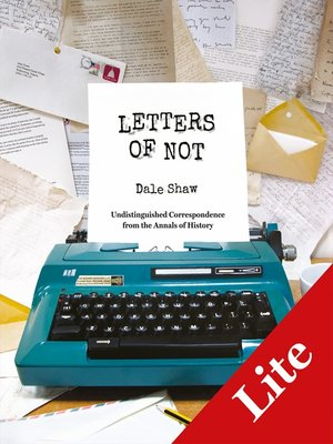 cover image of Letters of Not Lite