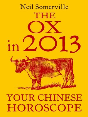 cover image of The Ox in 2013