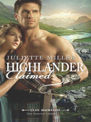 cover image of Highlander Claimed