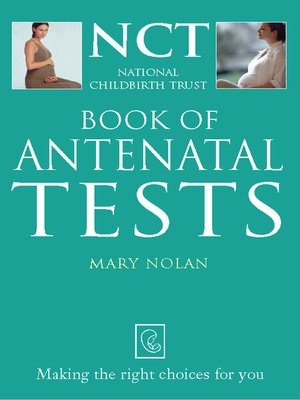 cover image of Antenatal Tests