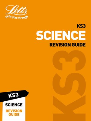 cover image of KS3 Science Revision Guide