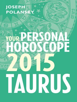 cover image of Taurus 2015