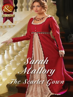 cover image of The Scarlet Gown