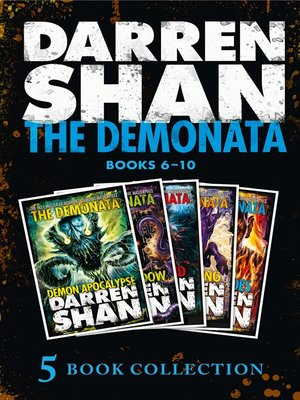 cover image of The Demonata 6-10