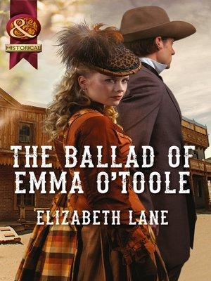cover image of The Ballad of Emma O'Toole