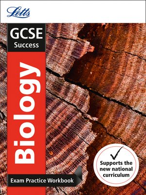 cover image of GCSE 9-1 Biology Exam Practice Workbook, with Practice Test Paper