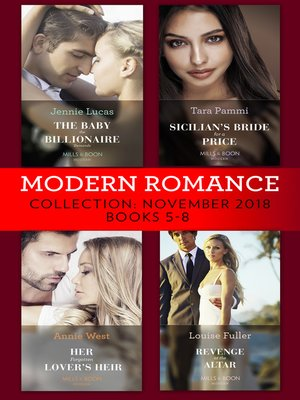 cover image of Modern Romance November Books 5-8