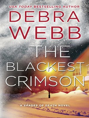 cover image of The Blackest Crimson