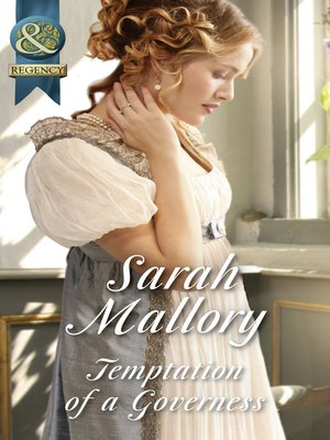 cover image of Temptation of a Governess