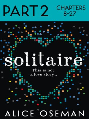cover image of Solitaire, Part 2 of 3