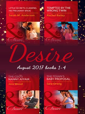cover image of Desire Collection: August 2017 Books 1--4