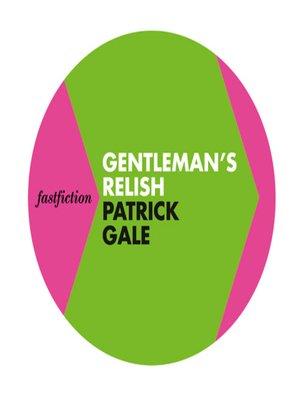 cover image of Gentleman's Relish