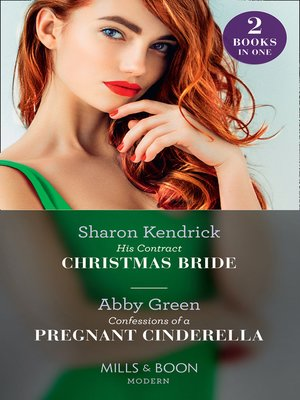 cover image of His Contract Christmas Bride / Confessions of a Pregnant Cinderella
