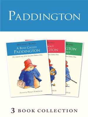 cover image of Paddington Novels 1-3