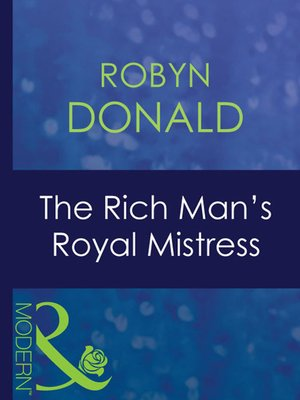 cover image of The Rich Man's Royal Mistress