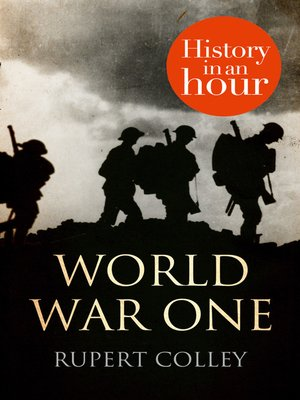 cover image of World War One