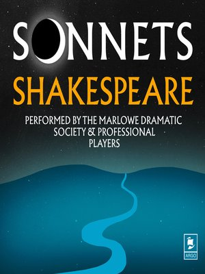 cover image of Sonnets