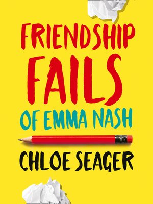 cover image of Friendship Fails of Emma Nash